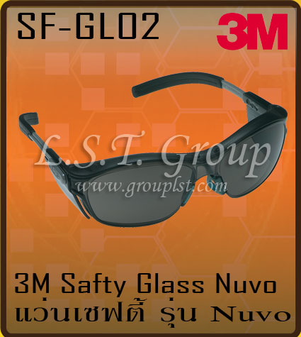 3M Safety Eyeglasses Nuvo Series