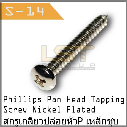 Phillips Pan Head Tapping Screw